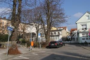 Die Parkplätze der Georginenstraße fallen weg, sie wird zur reinen Fußgängerzone