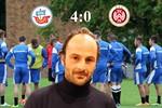 Hansa Rostock besiegt Wehen Wiesbaden mit 4:0 (1:0)