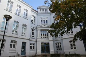 Das alte Physikalische Institut der Uni Rostock soll umgebaut und weiter genutzt werden