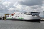 """Neue Scandlines-Fähre """"Berlin"""" erstmals in Rostock eingelaufen"""