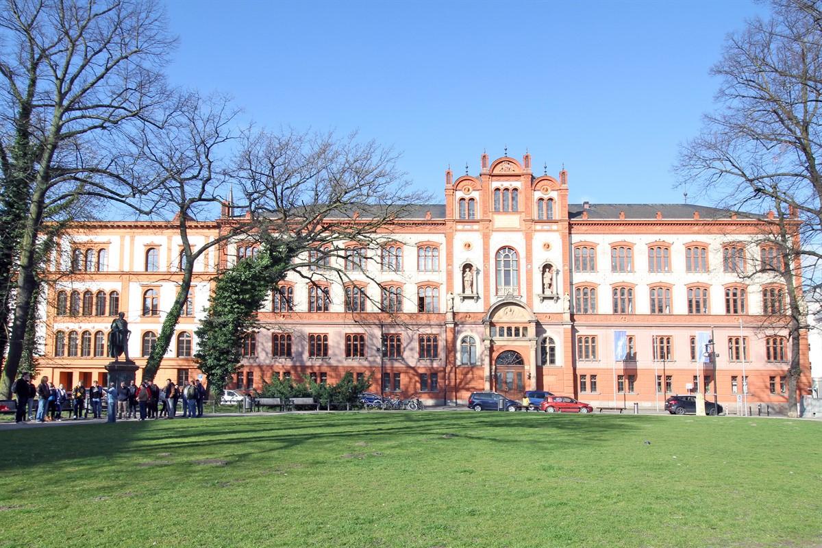 Glasgestaltung in der Architektur » Universität · Rostock II