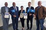 """""""Blaue Flagge"""" für Warnemünde, Markgrafenheide und Hohe Düne"""