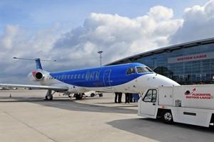 bmi regional fliegt an Sonntagen zweimal zwischen Rostock und München (Foto: Angelika Heim)