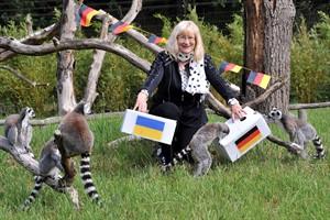 Lotto-MV-Geschäftsführerin Barbara Becker und die Kattas lassen keinen Zweifel, dass es am Sonntag eine klare Geschichte für die deutsche Mannschaft wird (Foto: Joachim Kloock)