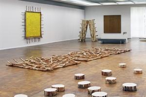 """Günther Uecker: """"Der geschundene Mensch"""" in der Kunsthalle Rostock - """"Weiße Tränen"""""""", """"Hindernisweg"""" und """"Großes gelbes Bild"""""""
