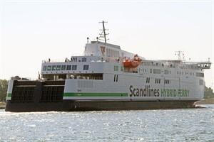 """332 Pkw - Scandlines-Fähre """"Berlin"""" bricht eigenen Rekord auf der Strecke Rostock-Gedser (Foto: Archiv)"""
