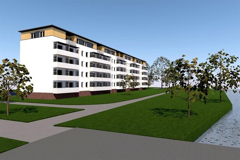 wiro will wohnblocks in der s dstadt um eine etage. Black Bedroom Furniture Sets. Home Design Ideas