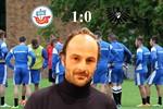 Hansa Rostock besiegt Preußen Münster mit 1:0