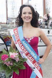 Natalia Surova ist Miss Hanse Sail 2016 (Foto: Hanse Sail / Lutz Zimmermann)