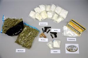 Mehr als 13 Kilogramm Betäubungsmittel sichergestellt (Foto: Polizeipräsidium Rostock)