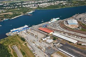 Seehafen Rostock: Starkes Wachstum im Kombinierten Verkehr (Foto: Rostock Port/Nordlicht)