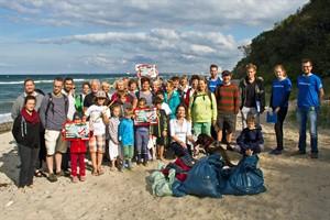 Coastal Cleanup Day: Zum vierten Mal hat die Naturschutzjugend Rostock gestern zur Strandreinigung in Warnemünde aufgerufen