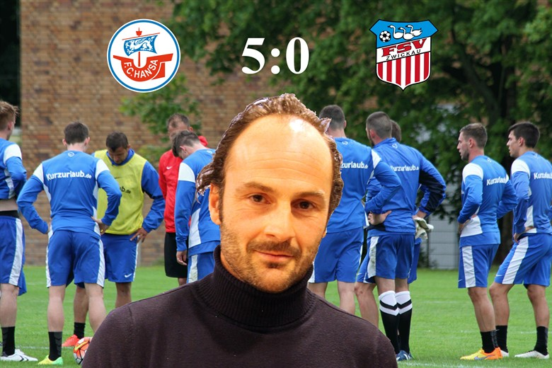 Hansa Rostock besiegt den FSV Zwickau mit 5:0