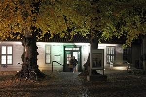 Im Klosterhof wird die Lange Nacht der Museen in Rostock am 29. Oktober 2016 um 18 Uhr eröffnet