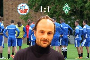 Hansa Rostock und Werder Bremen II trennen sich 1:1 (Foto: Archiv)