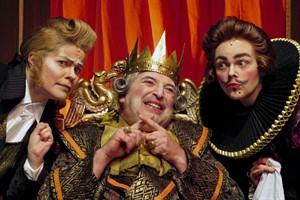 Des Kaisers neue Kleider mit Juschka Spitzer, Ulf Perthel und Friederike Drews (Foto: Marc Pawlowski)