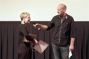Die Greifswalder Studentin Pauline Stopp gewann den Golden Toasters 2016 (Foto: Patrick Hinz)