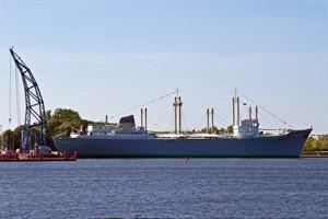Das Schiffbaumuseum mit dem Traditionsschiff im IGA-Park (Foto: Archiv)