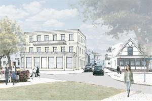 Schaubild Haus des Sports in Warnemünde (Quelle: hkc GmbH)