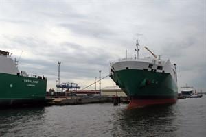 Rostocker Hafenumschlag wächst weiter - Wachstumstreiber ist der rollende Güterverkehr