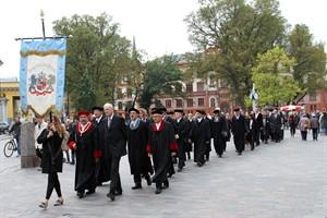 Rekord: 2.279 Studierende melden Wohnsitz in Rostock an - Festzug zur Immatrikulation an der Universität Rostock (Foto: Archiv)