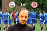 Hansa Rostock besiegt den Halleschen FC mit 1:0
