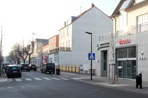 Die Ospa-Filiale am Warnemünder Kirchenplatz wird komplett umgebaut