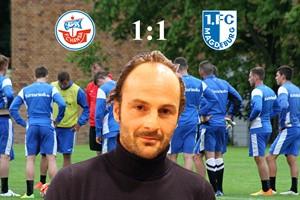 Hansa Rostock und der 1. FC Magdeburg trennen sich 1:1 (Foto: Archiv)