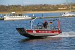 Neues Mehrzweckboot für die Rostocker Feuerwehr