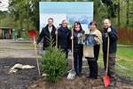 Fichte - Baum des Jahres im Zoo Rostock gepflanzt