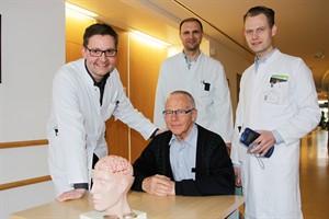 OP beendet das Zittern - Tiefe Hirnstimulation jetzt an Uni Rostock (Foto: Unimedizin Rostock)