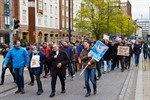 Science March gegen alternative Fakten und für freie Forschung in Rostock