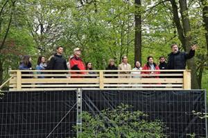 Aussichtsplattform fürs Polarium im Rostocker Zoo eröffnet (Foto: Joachim Kloock)