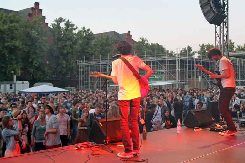 Campus Sommerfest an der Uni Rostock