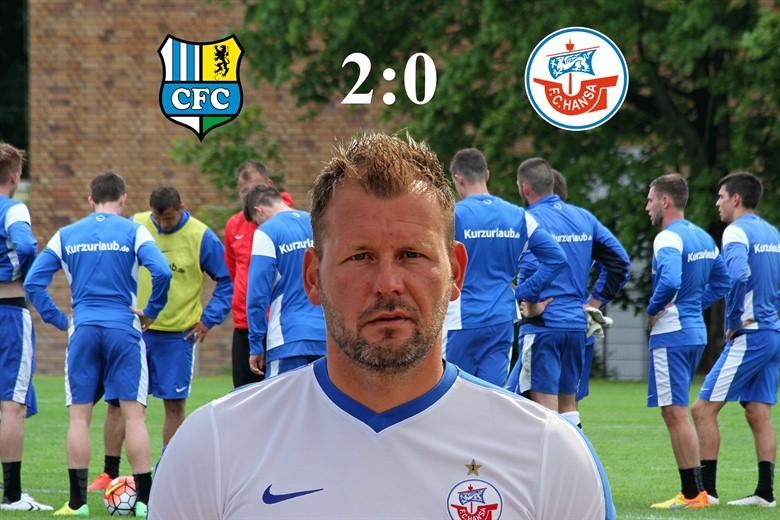 Hansa Rostock unterliegt Chemnitz mit 0:2