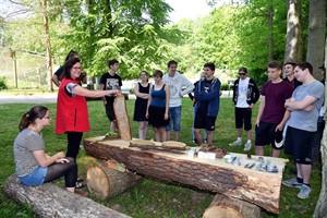 "Das ""Grüne Klassenzimmer"" im Zoo Rostock ist eröffnet (Foto: Joachim Kloock)"
