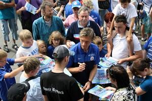 Fan- und Familientag des F.C. Hansa Rostock am 25.06.2017 im Ostseestadion (Foto: Archiv)