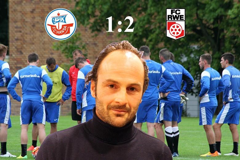Hansa Rostock unterliegt Rot-Weiß Erfurt mit 1:2