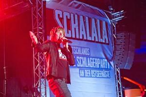 Mickie Krause bei der Schlagerparty im Ostseestadion