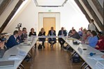 Petitionsausschuss besucht Mühlendammschleuse