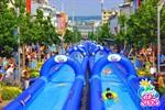 Riesen-Wasserrutsche kommt zur Hanse Sail in den Stadthafen