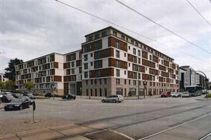 Die Warener Architekten von Ocean Architects haben die Gebäude Am Vögenteich, August-Bebel-Straße, Karlsstraße entworfen