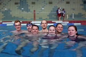 Das gemischte Team der Rostocker DRK-Wasserwacht (Foto: DRK/Powasserat)