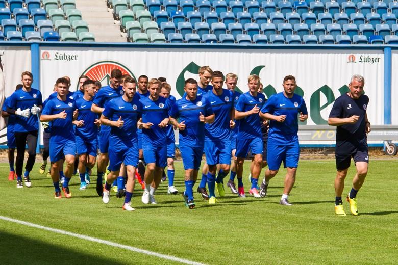 Hansa Rostock - Trainingsauftakt für die Saison 2017/18