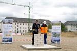 Marine legt Grundstein für neues Maritimes Operationszentrum