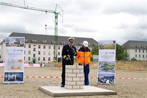 Grundsteinlegung für ein neues Maritimes Operationszentrum der Deutschen Marine