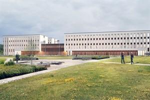 Architektenentwurf für das neue Maritime Operationszentrum (Quelle: Bastmann und Zavracky)