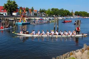 Warnemünder Woche: Drachenbootrennen (Foto: Archiv)