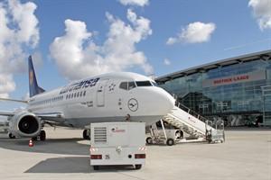 Flughafen Rostock-Laage mit weiter wachsenden Passagierzahlen (Foto: Archiv)