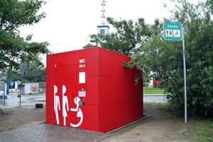Neue WC-Anlage in Hohe Düne